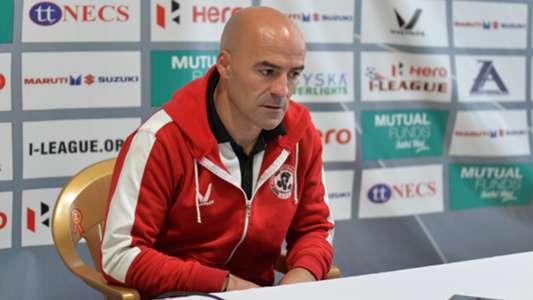 Paulo Coelho Aizawl FC I-League 2017/2018