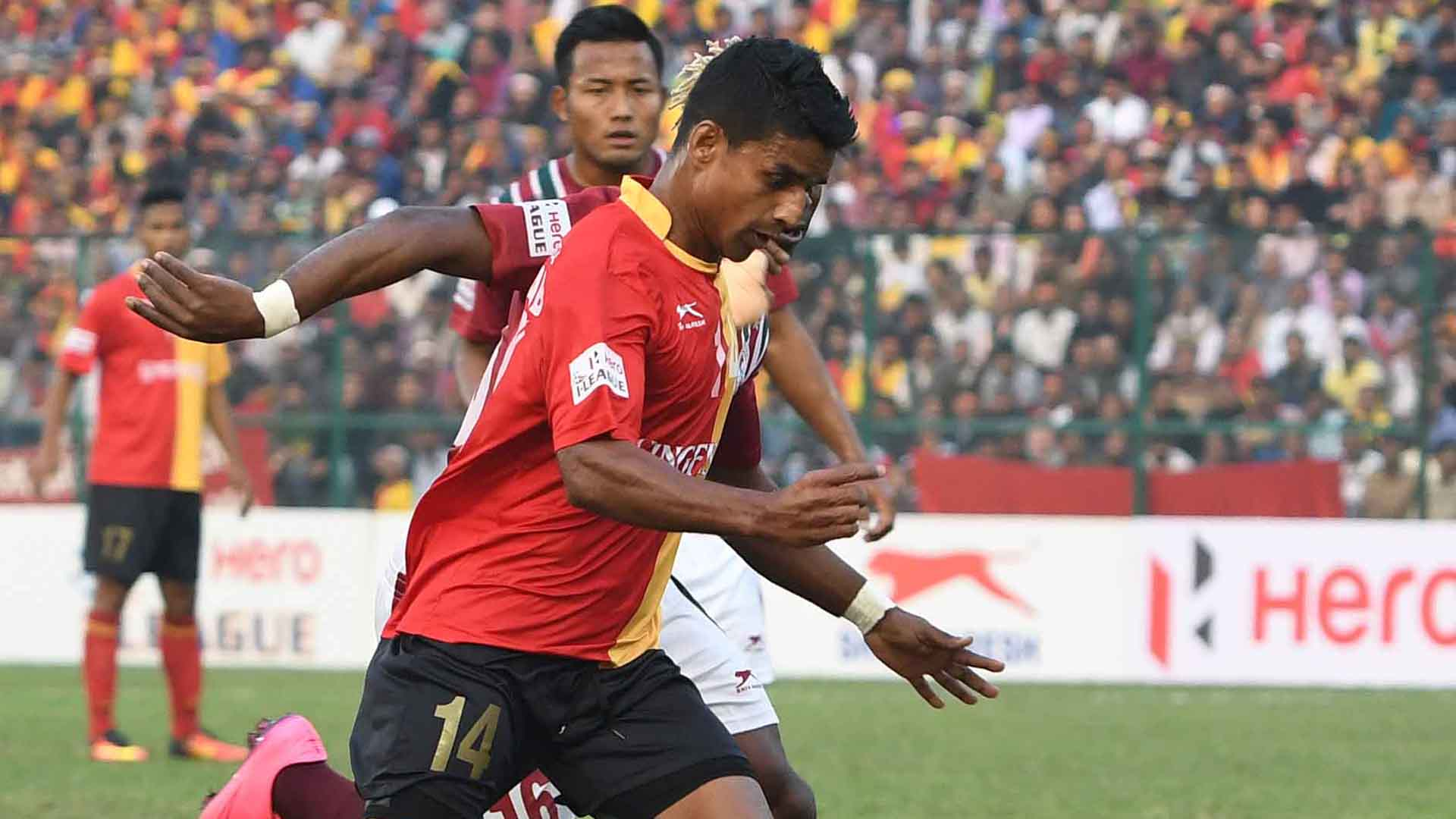 Mehtab Hossain East Bengal Mohun Bagan I-League 2017