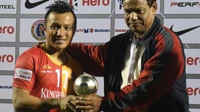 Laldanmawia Ralte East Bengal Shillong Lajong FC I-League 2017/2018