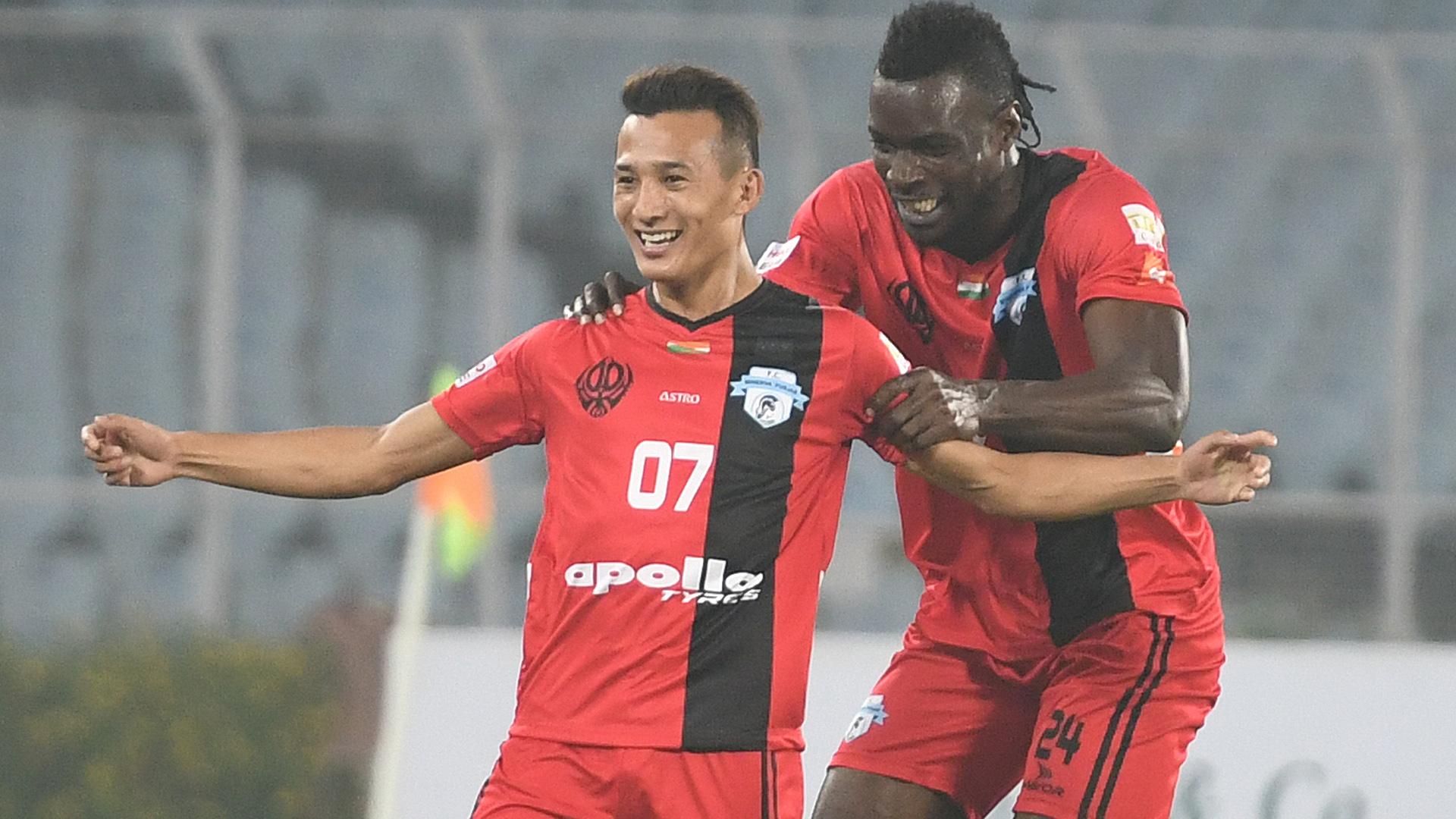 Chencho Gyeltshen Mohun Bagan Minerva Punjab FC I-League 2017/2018