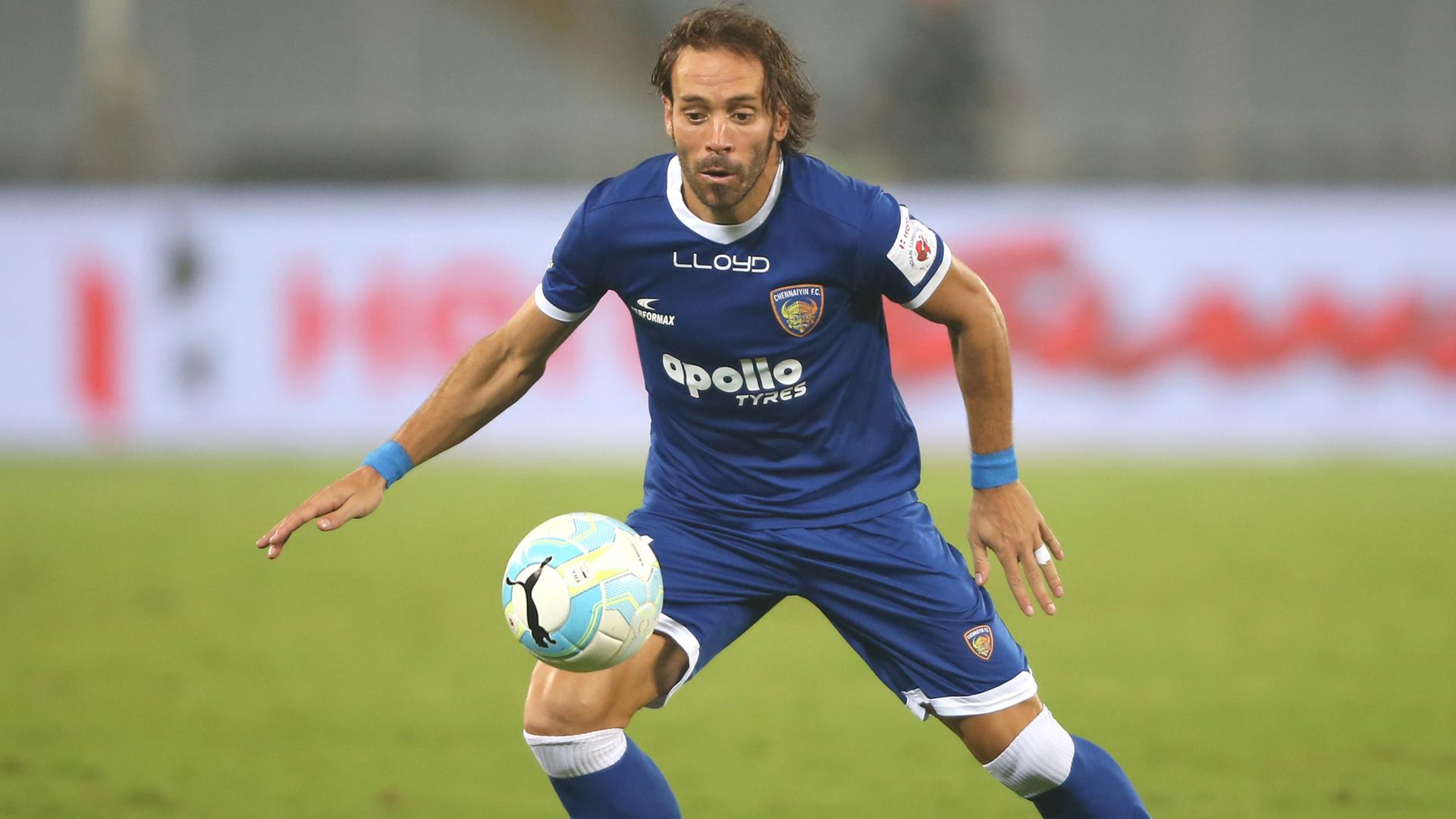 Inigo Calderon ATK Chennaiyin FC ISL 4 2017/2018