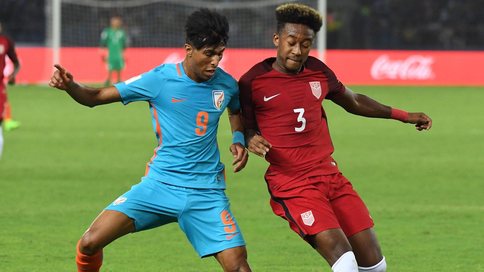 Aniket Jadhav  India U17 USA U 17 FIFA U-17 World Cup India 2017