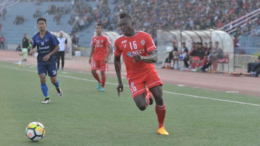 Kareem Omolaja Nurain Aizawl FC Churchill Brothers I-League 2017/2018