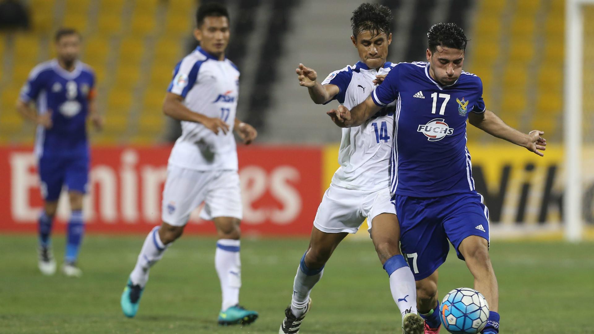 Eugeneson Lyngdoh Ahmed Kadhim Al-Quwa Al-Jawiya Bengaluru FC AFC Cup Final