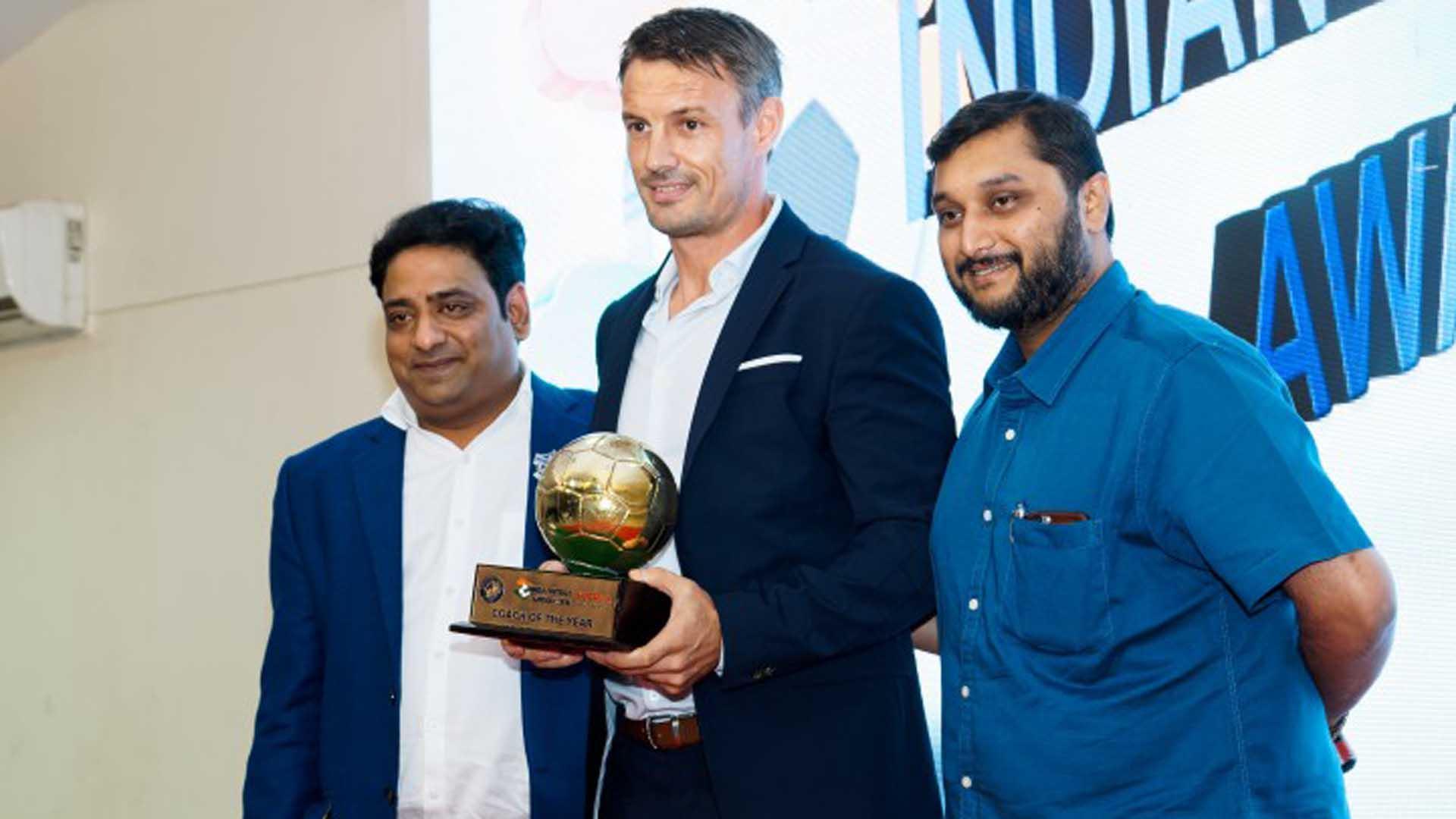 Ashley Westwood FPAI Indian Football Awards 2016