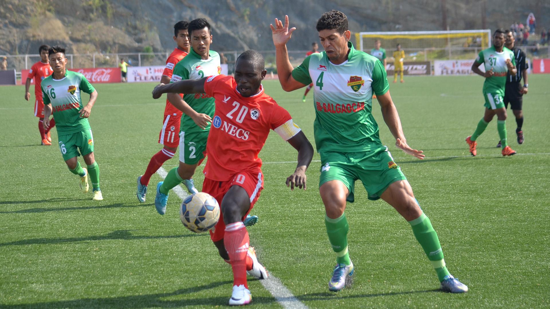 Alfred Jaryan Eder Aizawl FC Salgaocarc FC I-League
