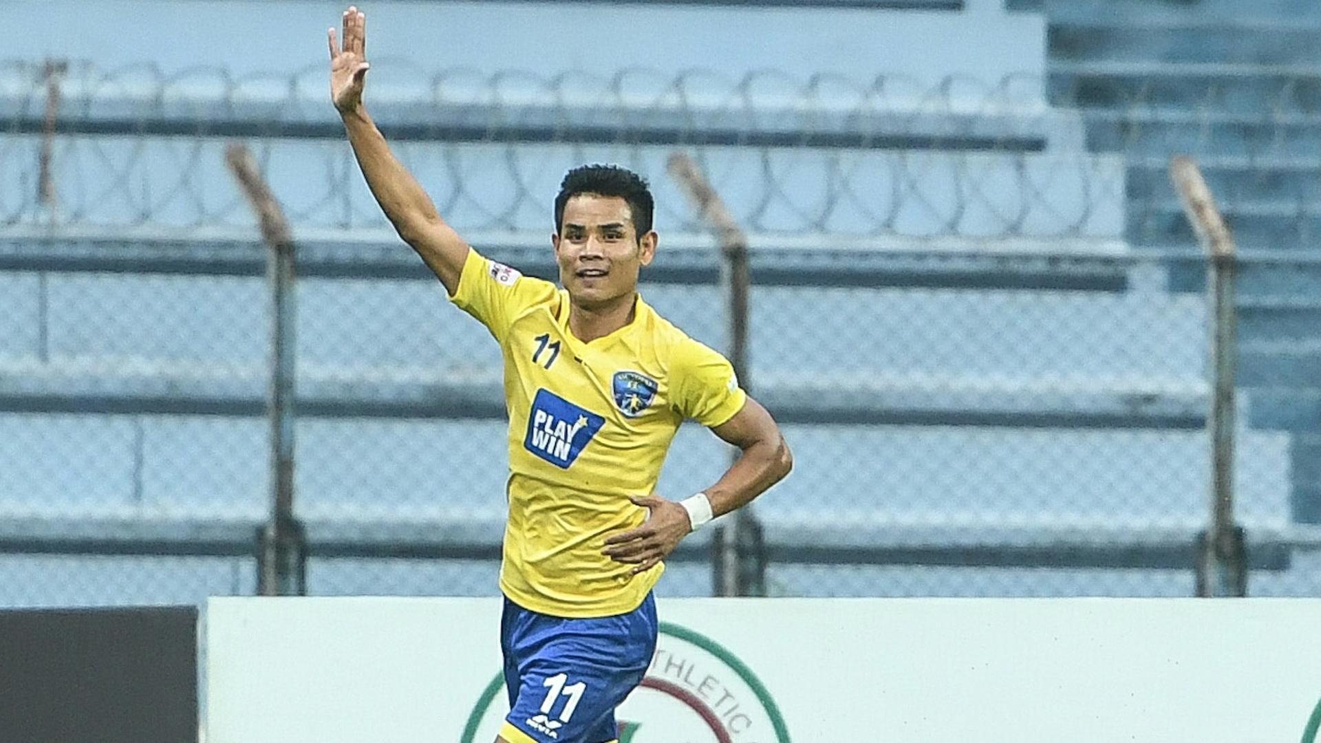Thoi Singh Mohun Bagan Mumbai FC I-League 2017