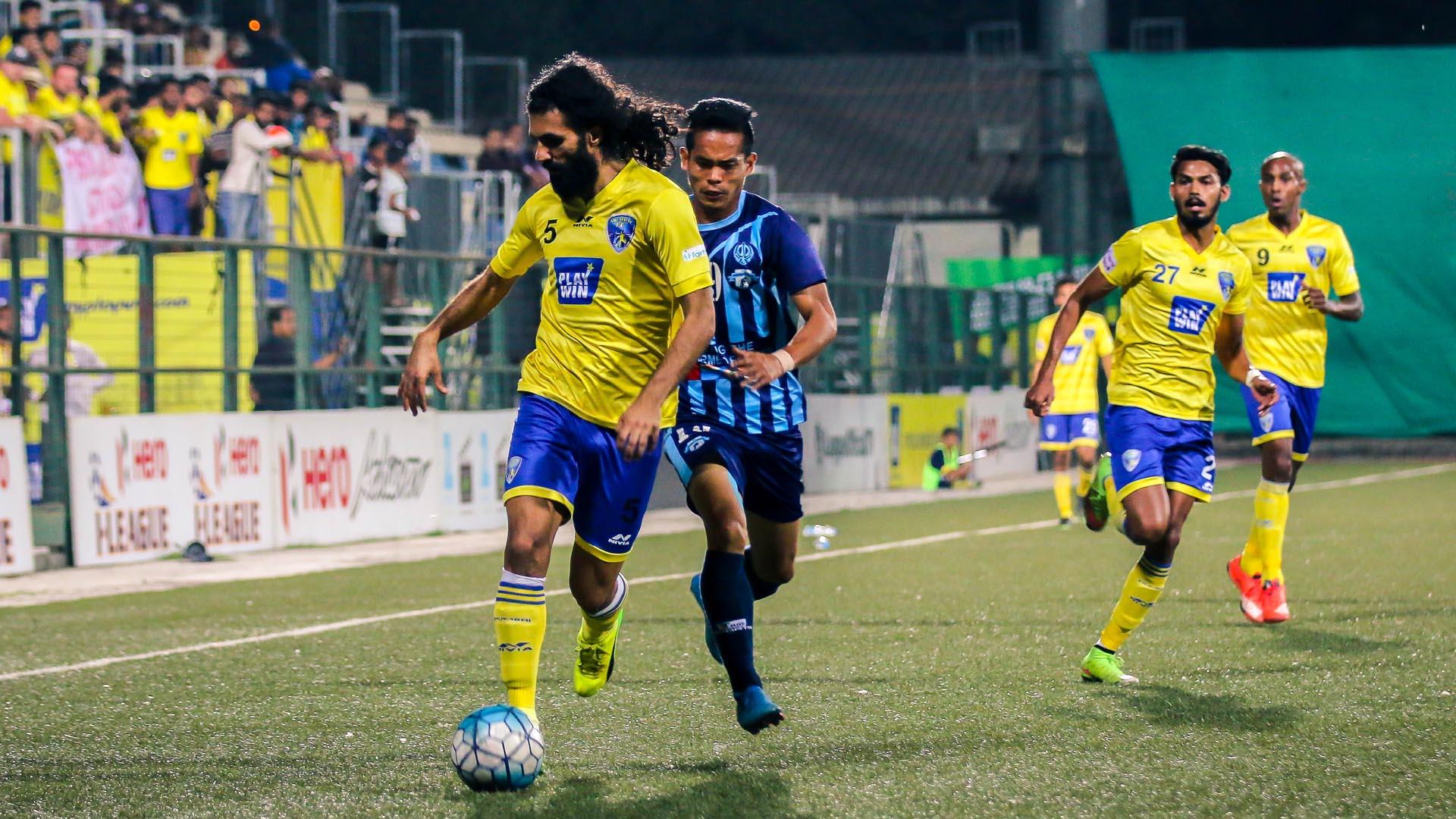 Djelaludin Sharityar Mumbai FC Minerva Punjab FC I-League 2017
