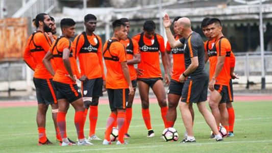Indian National team training session