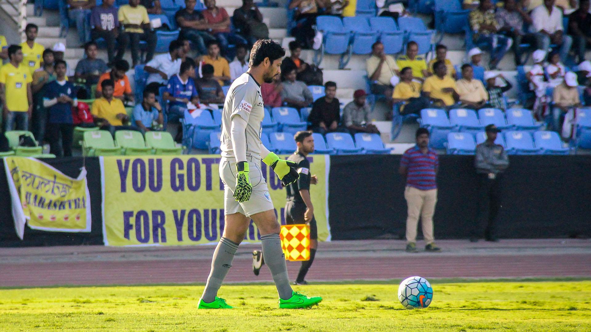 Laxmikant Kattimani DSK Shivajians FC Mumbai FC I-League 2017