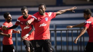 Roby Norales Bengaluru FC training session
