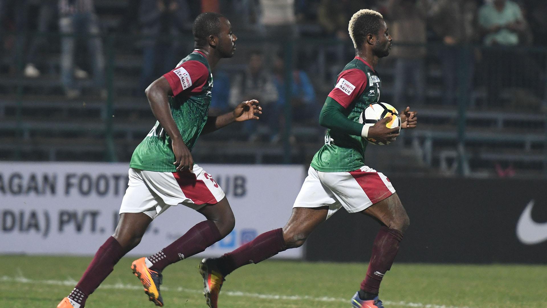 Dipanda Dicka Ansumana Kromah Mohun Bagan Chennai City FC I-League 2017/2018