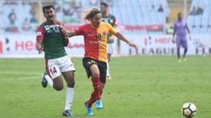 Arijit Bagui Katsumi Yusa East Bengal Mohun Bagan I-League 2017/2018