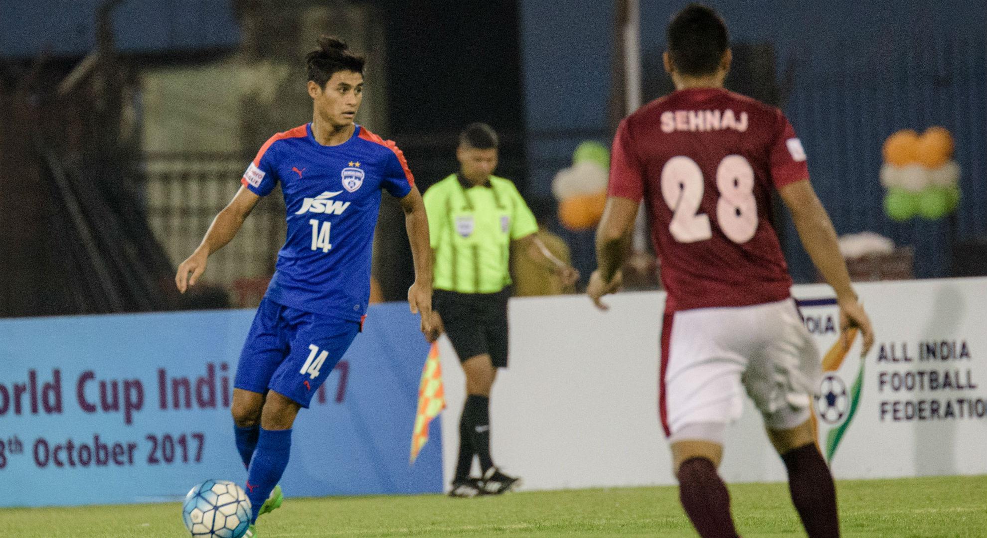 Eugeneson Lyngdoh Bengaluru FC Mohun Bagan Federation Cup Final 2017