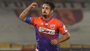Marcelinho FC Pune City NorthEast United FC I-League 2017/2018