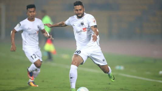 Marcinho NorthEast United FC FC Pune City ISL 4 2017/2018