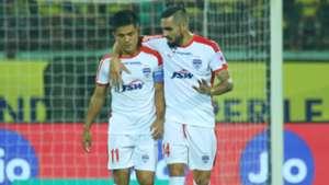 Sunil Chhetri Dimas Kerala Blasters FC Bengaluru FC ISL 4 2017/2018