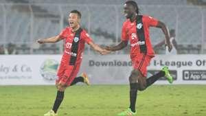 Chencho Gyeltshen Eric Dano Mohun Bagan Minerva Punjab FC I-League 2017/2018