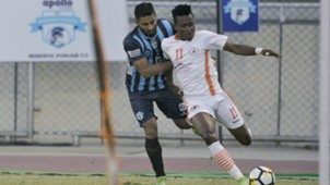 Sukhdev Singh Odili Chidi Minerva Punjab FC NEROCA FC I-League 2017/2018