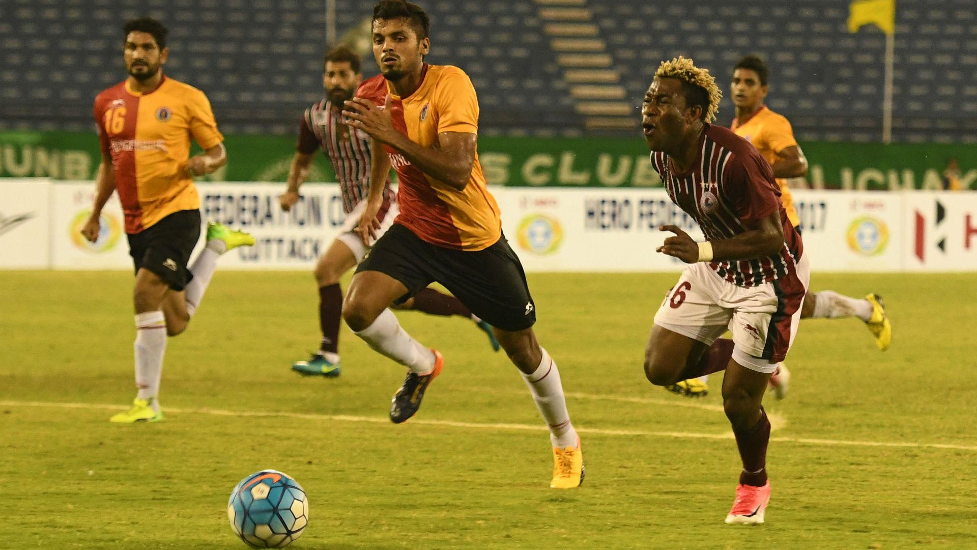 Sony Norde Mohun Bagan East Bengal Federation Cup Semi Final 2017