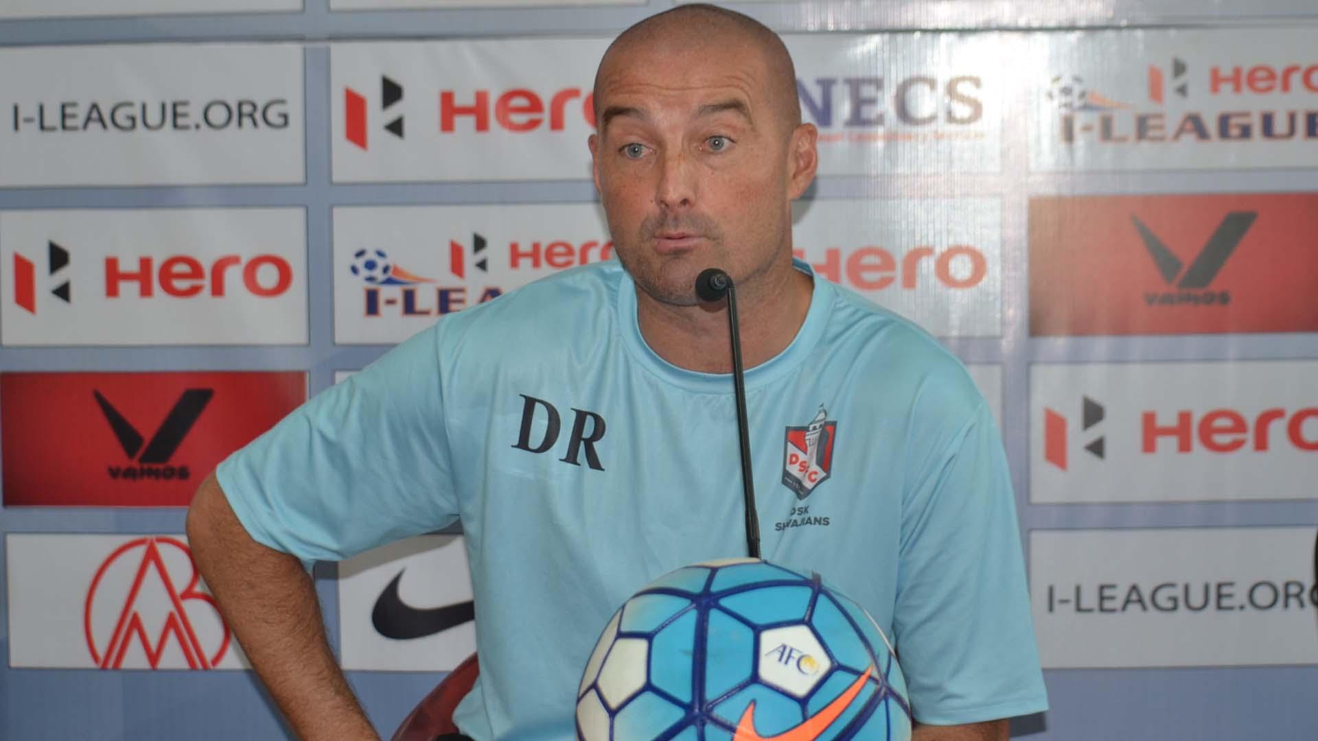 Dave Rogers DSK Shivajians FC I-League 2017