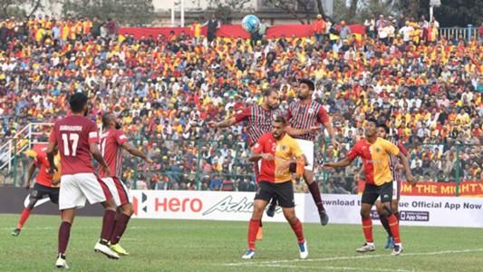 East Bengal Mohun Bagan I-League 2017