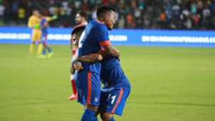 Jeje Lalpekhlua Sunil Chhetri India Puerto Rico International Friendly