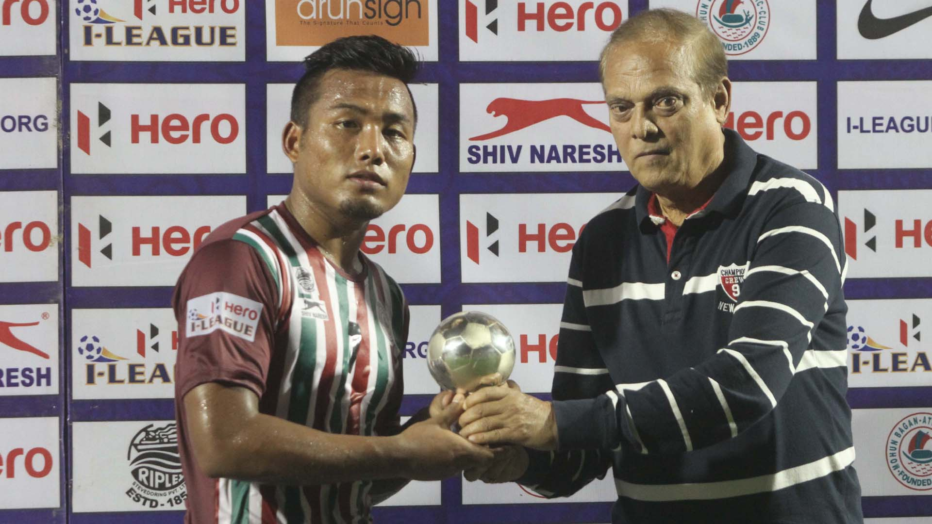 Jeje Lalpekhlua Mohun Bagan Shillong Lajong I-League