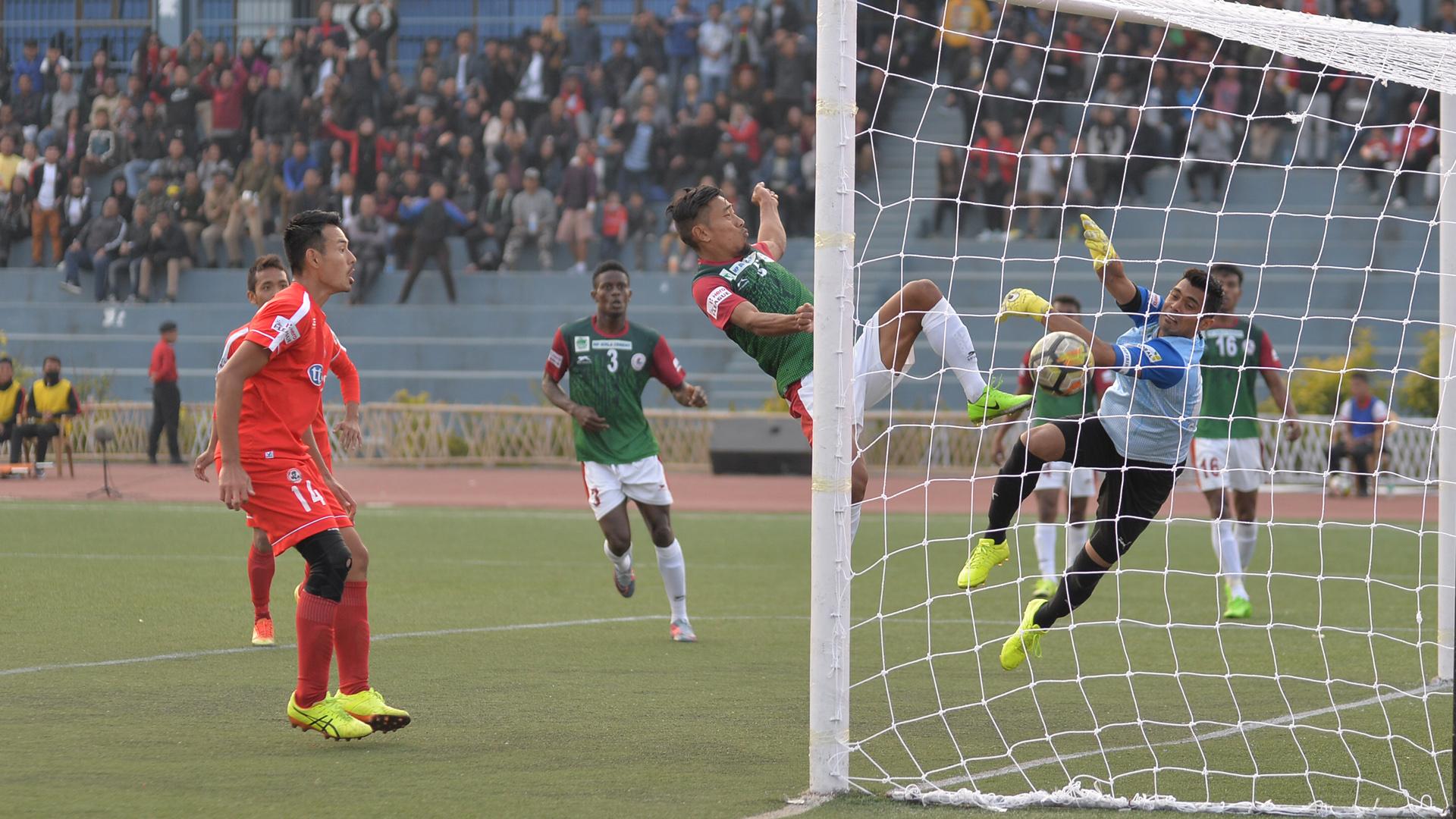 Aizawl FC Mohun Bagan I-League 2017/2018