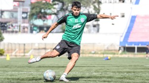 Nishu Kumar Bengaluru FC training session