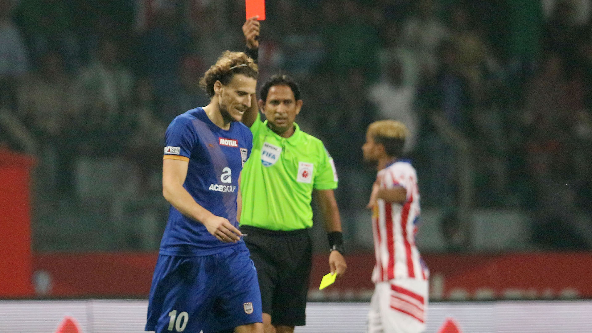 Diego Forlan Atletico de Kolkata Mumbai City FC ISL semi final season 3 2016