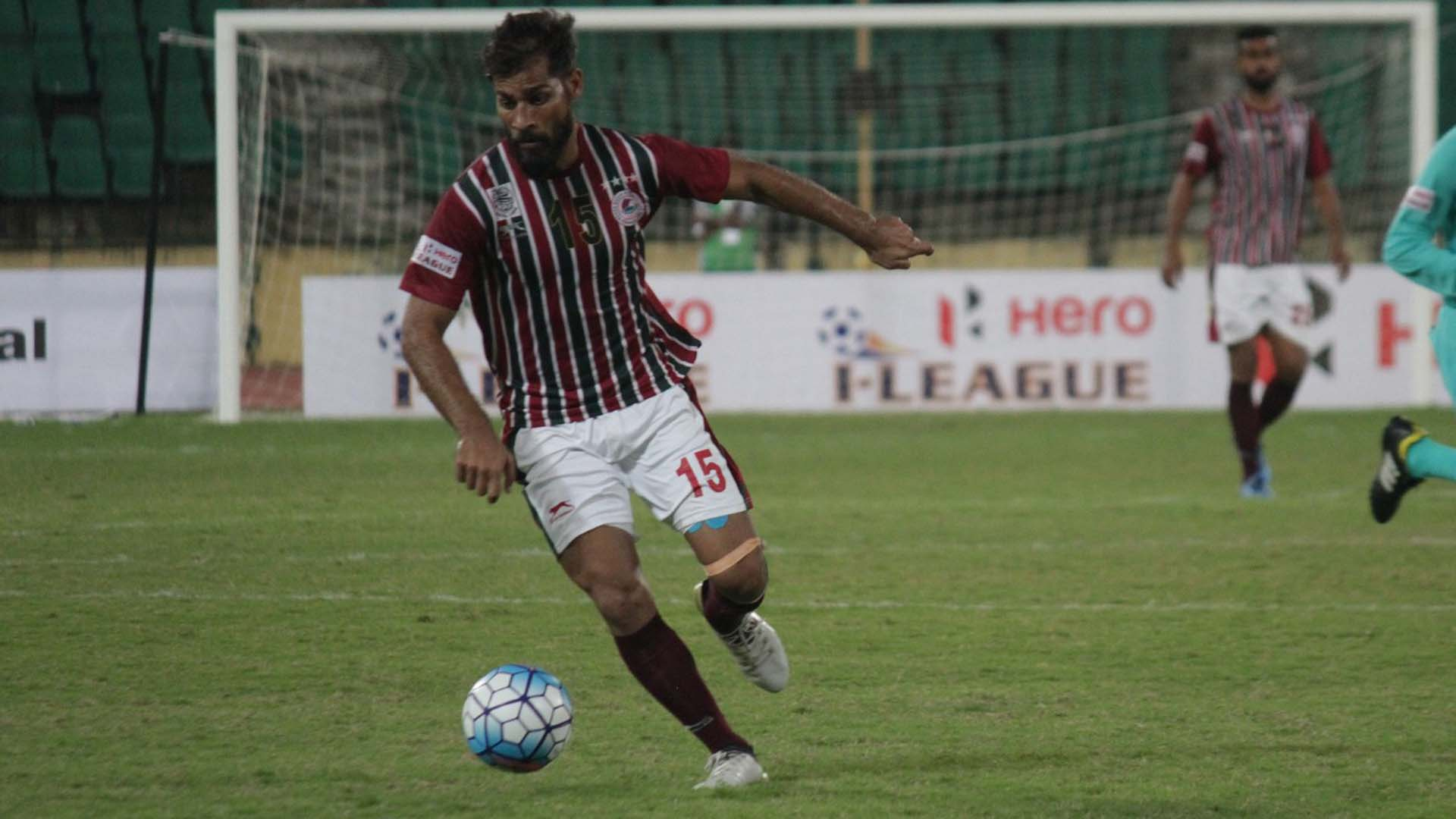 Balwant Singh Chennai City Mohun Bagan I-League 2017