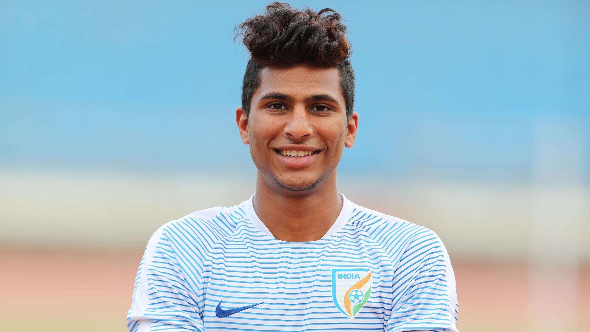 Aniket Jadhav FIFA U17 World Cup 2017 India U17 training