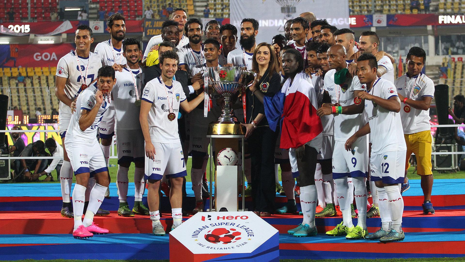 Chennaiyin FC ISL season 2015 Champions