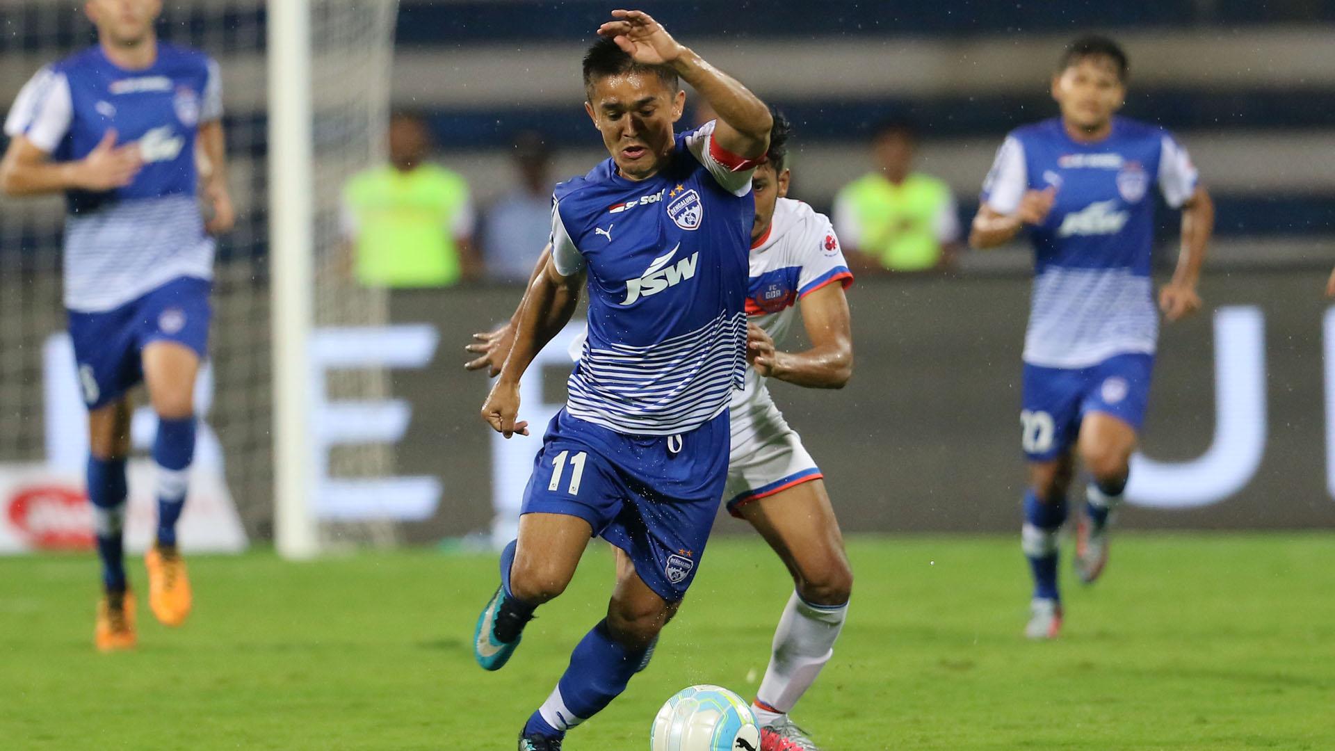 Sunil Chhetri Bengaluru FC FC Goa ISL 4 2017/2018