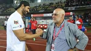 John Abraham Nelo Vingada NorthEast United FC FC Goa ISL Season 3 2016