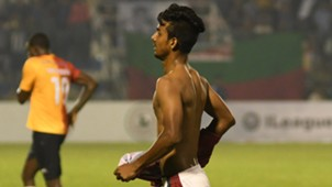 Azharuddin Mallick Mohun Bagan East Bengal I-League 2017