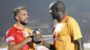 Robin Singh Ivan Bukenya East Bengal Bengaluru FC I-League 2017