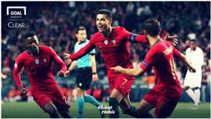 Clear-Ronaldo Hattrick