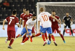 Qatar Russia Friendly 10112016