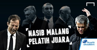 GFX H&S Nasib Malang Pelatih Juara