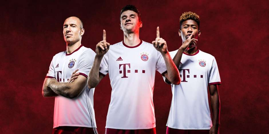 Bayern Munich - Third Kit 2016/17 - Adidas