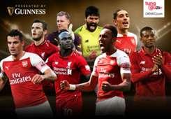 Guinness - Cover Arsenal vs Liverpool