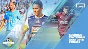 Liga 1 - Terbaik - Pekan 6