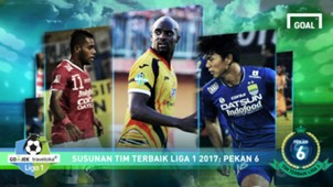Liga 1 Best XI - Pekan 6 Cover