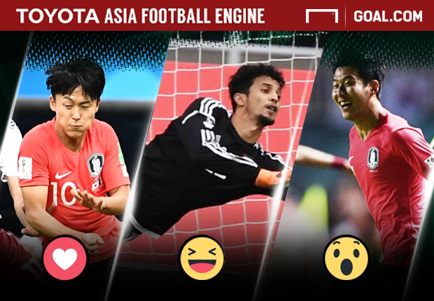 Toyota Polling - Lee Seung-Woo, Mohamed Alshamsi, Son Heung-Min