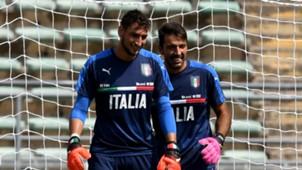 Gianluigi Donnarumma Gianluigi Buffon Italy