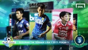 Liga 1 - Best XI Pekan 3
