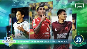 Best XI - Liga 1 - Pekan 23
