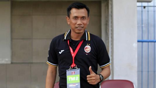 Widodo Cahyono Putro - Madura United vs. Sriwijaya FC Pekan Ke-20